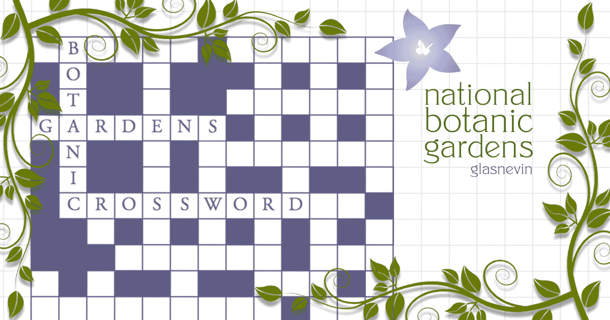 national botanic gardens of ireland crossword puzzle image
