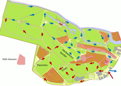 preview image of covid-19 compliant map botanic gardens